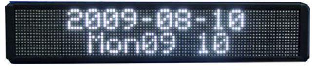 LED eilutė metaliniame korpuse