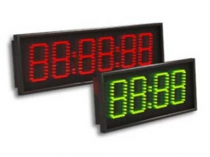 LED elektroniniai laikrodžiai su sinchronizacija